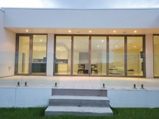 CF68 Bifolds, Reynaers manufactured by Southern Windows, Nobile