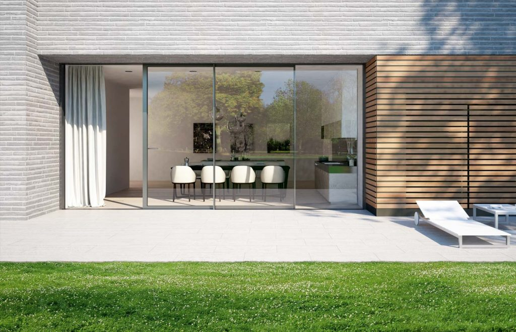 Slim frame Lift and Slide doors from Schuco