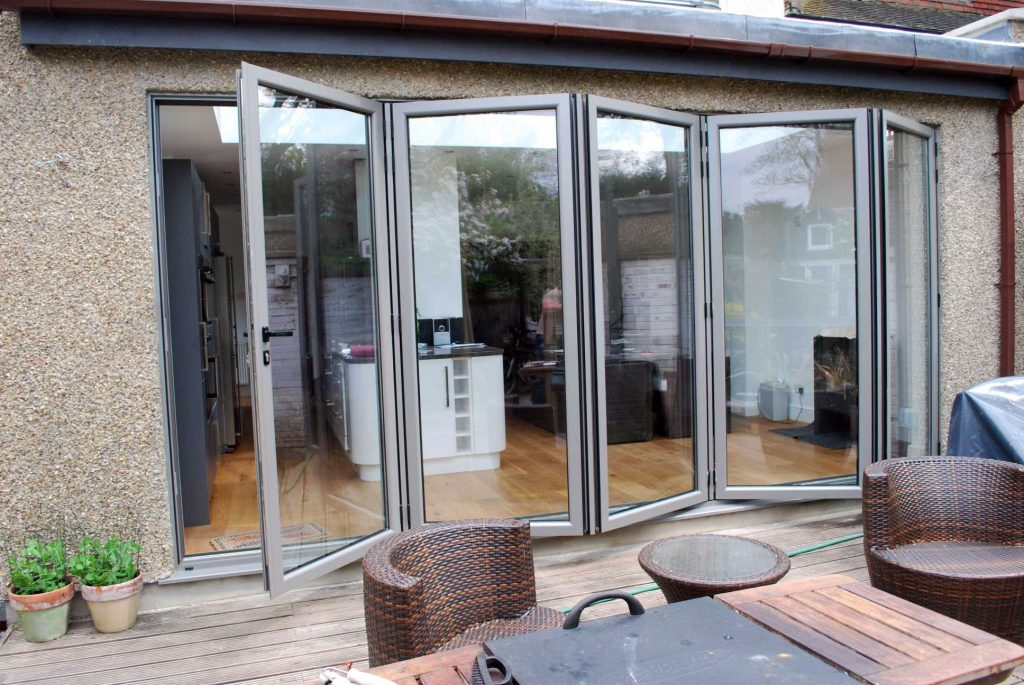 Reynaers CF68 bifolds installed by Southern Windows