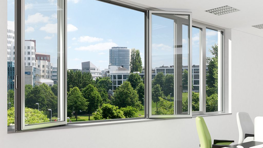 Schuco AWS sc70 casement window system