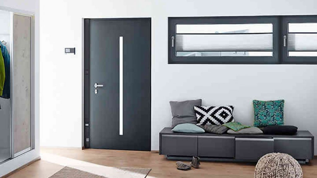 Schuco entrance doors