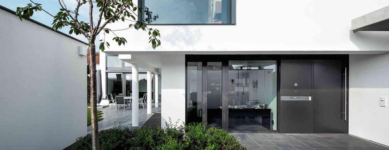 Schuco entrance doors