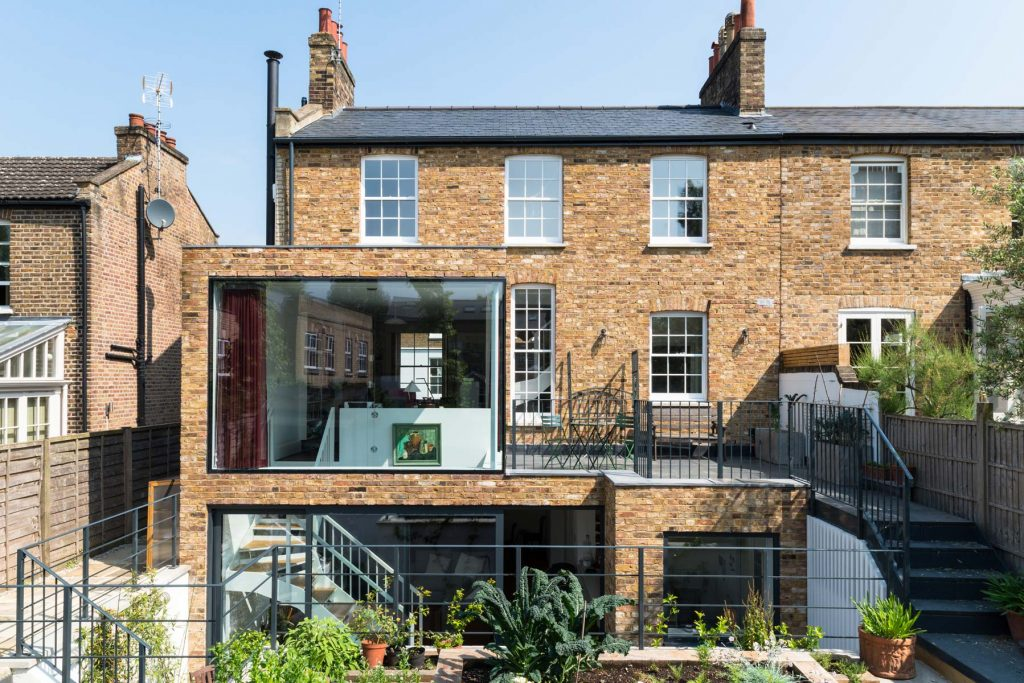 Battersea, Victorian property with aluminium structural glazing by Southern Windows
