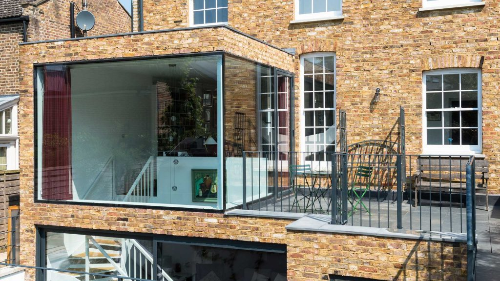 Battersea oversized light structural glazing