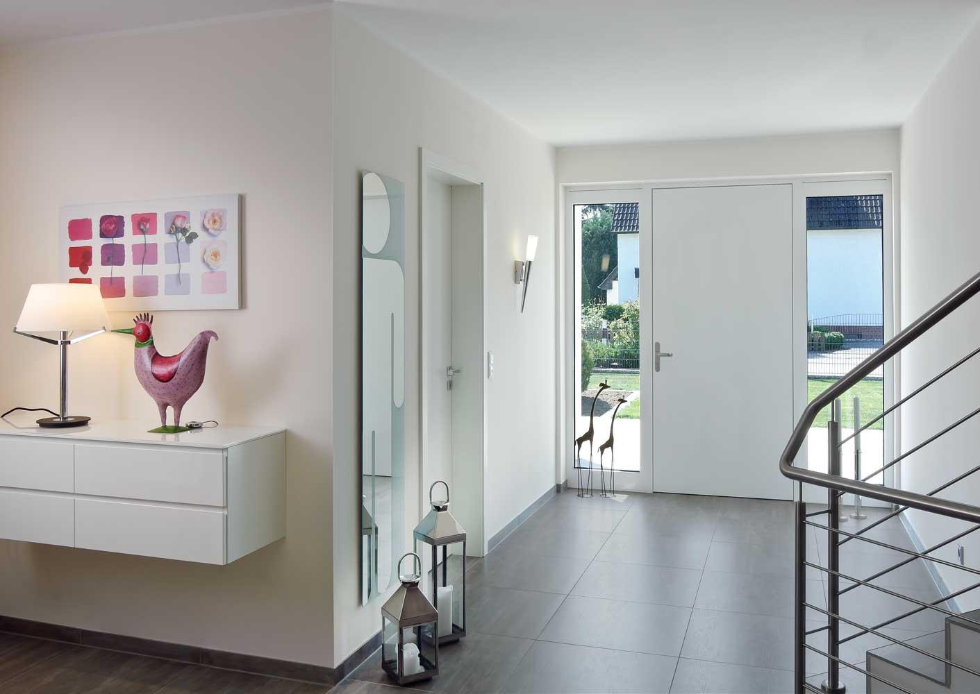 Bruxells Villa Schuco entry door in dual colour