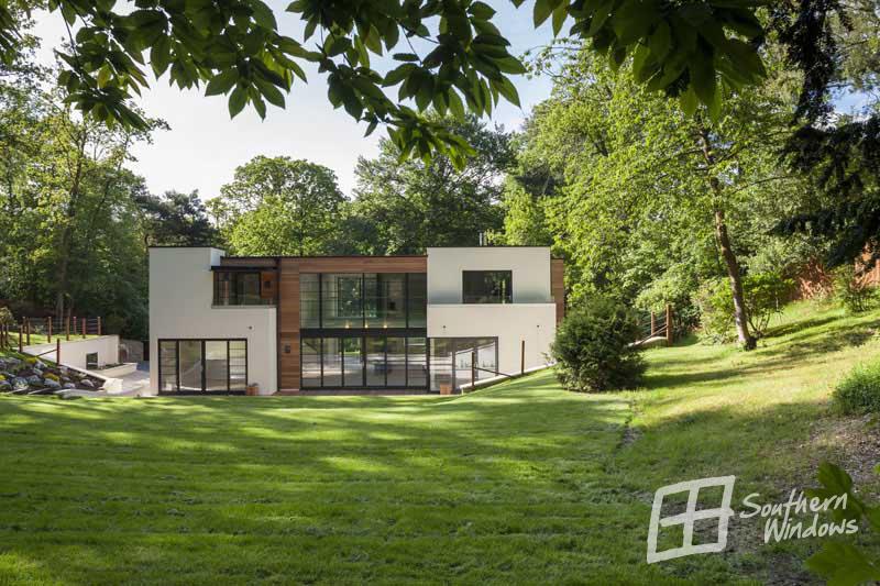 Farnham, Surrey-architectural glazing by Southern Windows