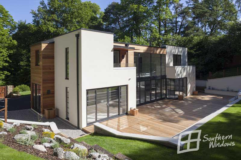 Farnham, Surrey-architectural glazing project