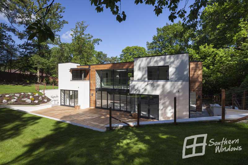 Farnham in Surrey- architectural glazing by Southern Windows
