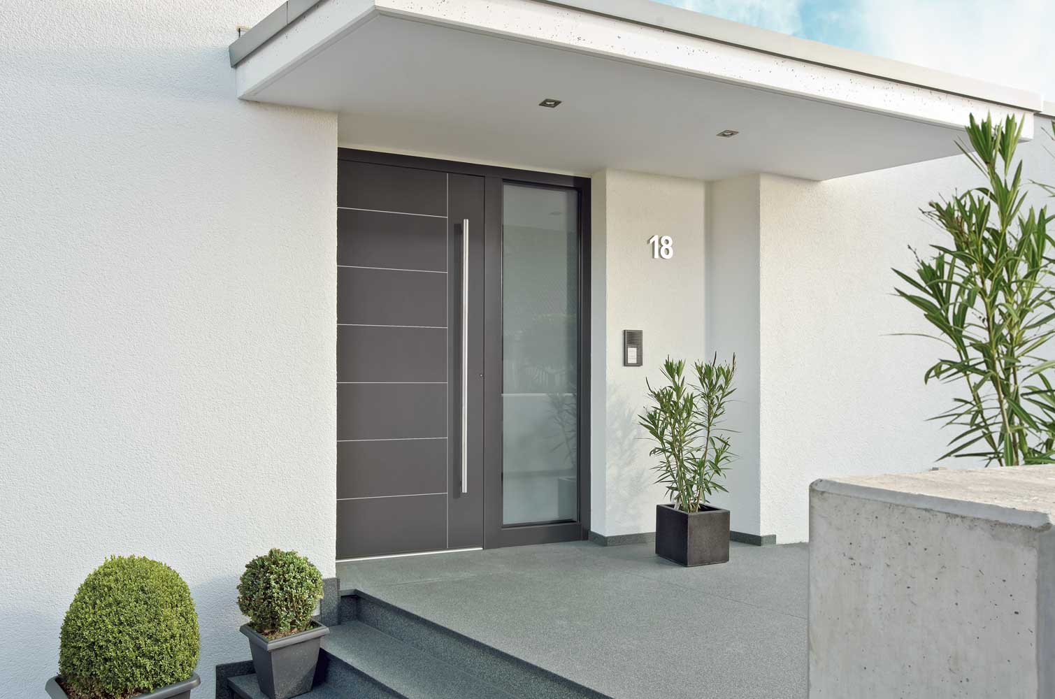 Metris Schuco residential entry door
