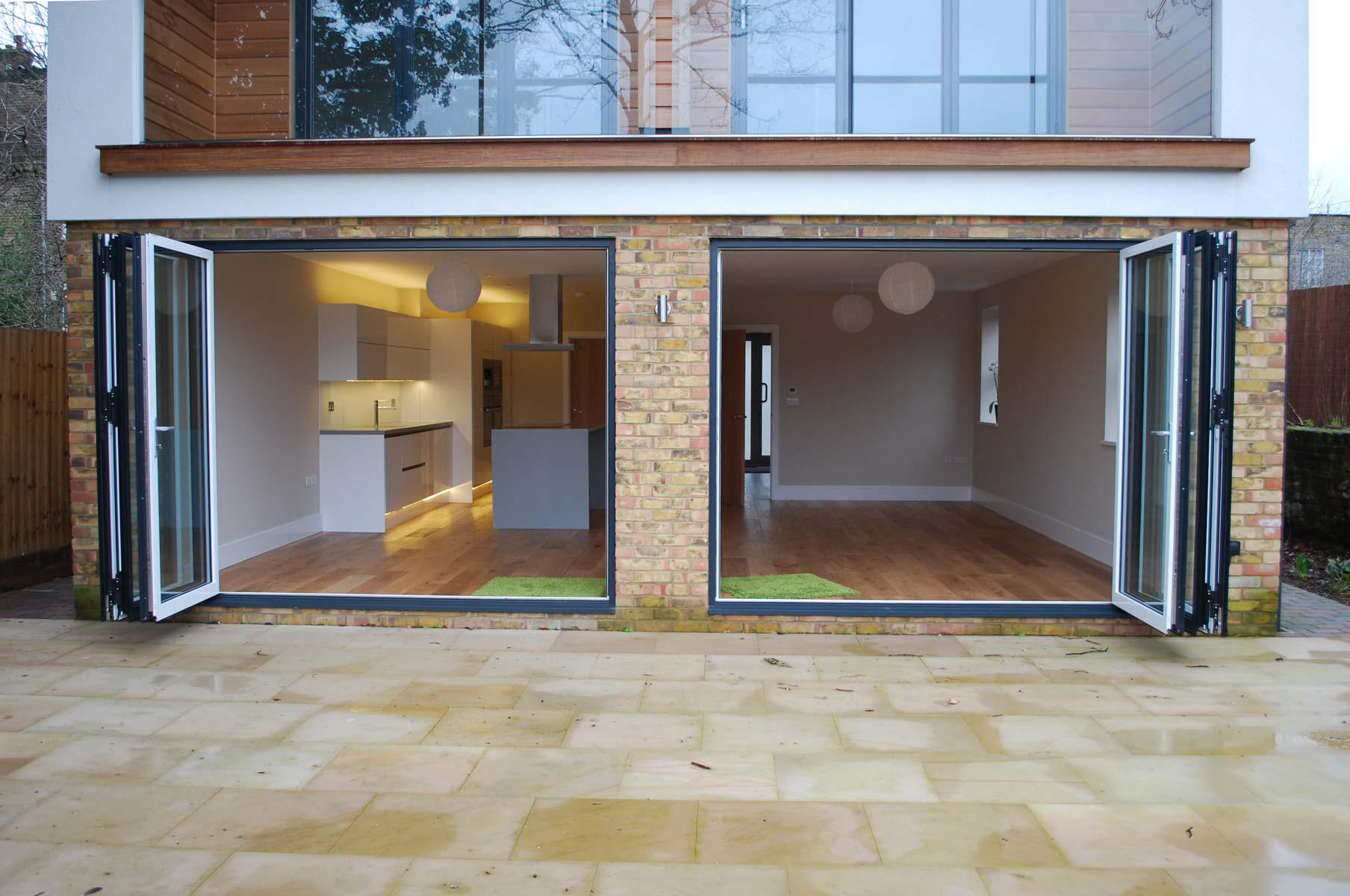 Bi Folding Doors With Lead Door Function From Southern Windows