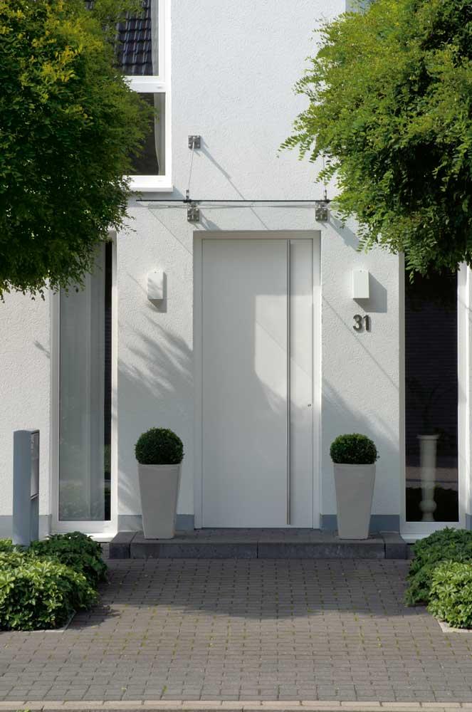Vilmo-schuco white entry door