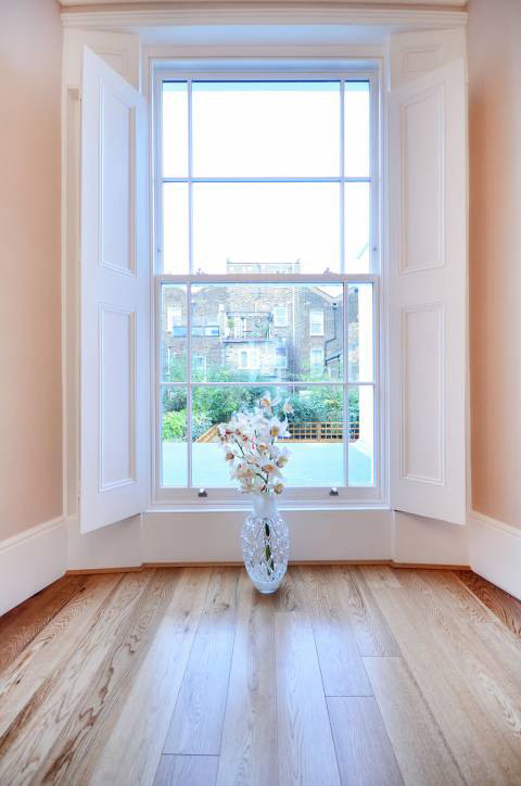 Traditional Hardwood Sash Windows For London Southern