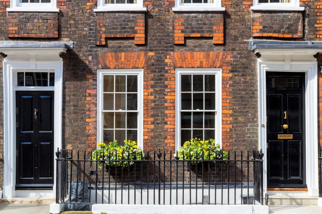 Traditional timber sash windows