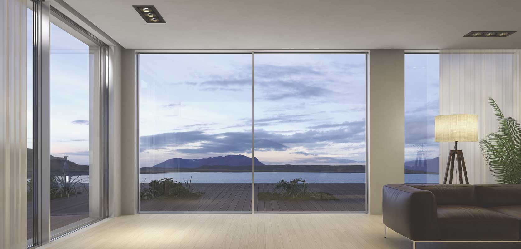 Supreme S650 sliding doors by Alumil