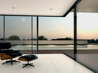 Supreme S650 by Alumil, sliding doors with open corner
