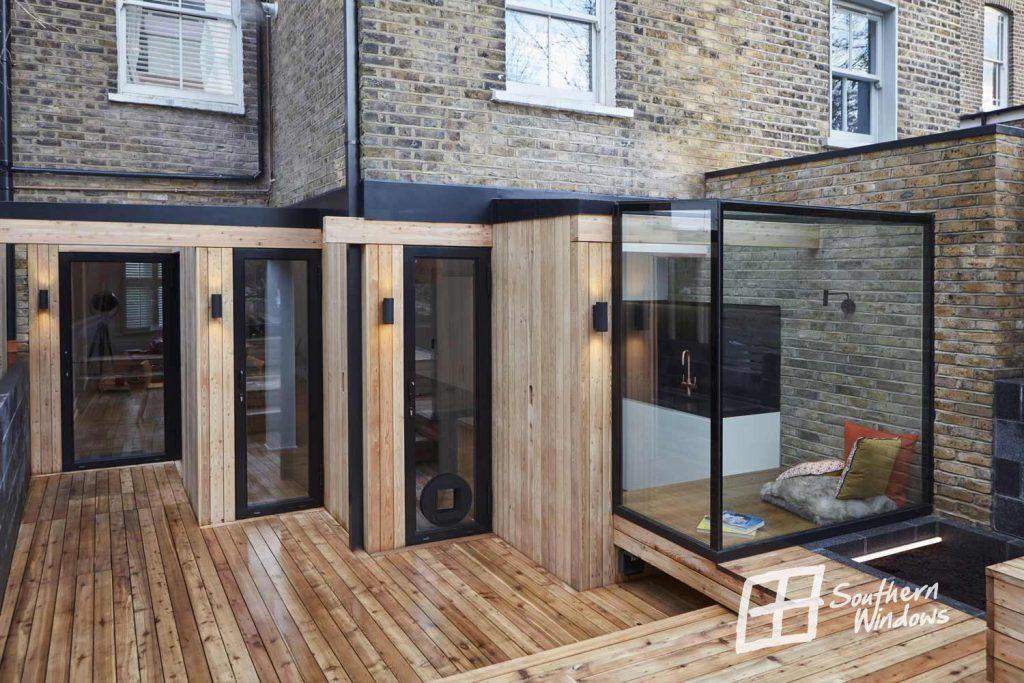 Bespoke glass box solution, Tremlett Grove
