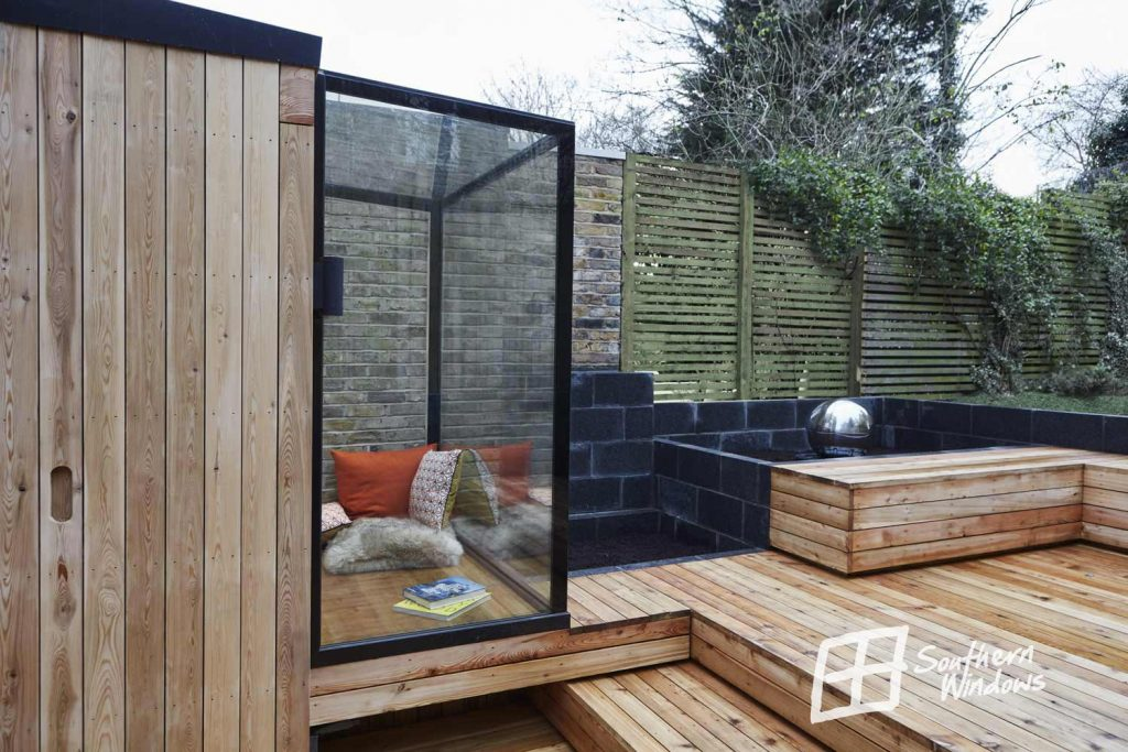 Tremlett Grove-glass box extension