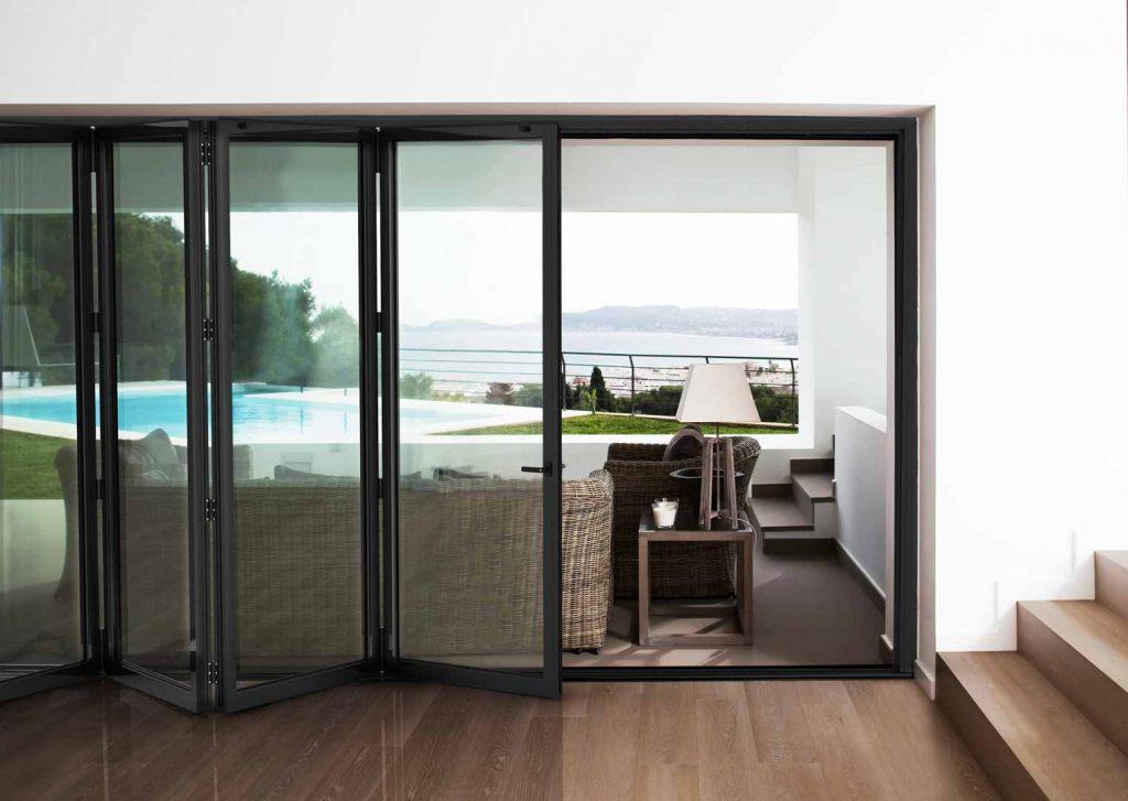 Cortizo Slim Bifolding Doors