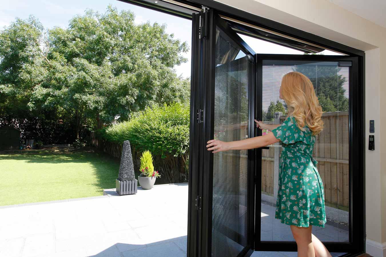 Slim Aluminium Bifolding Doors, Cortizo