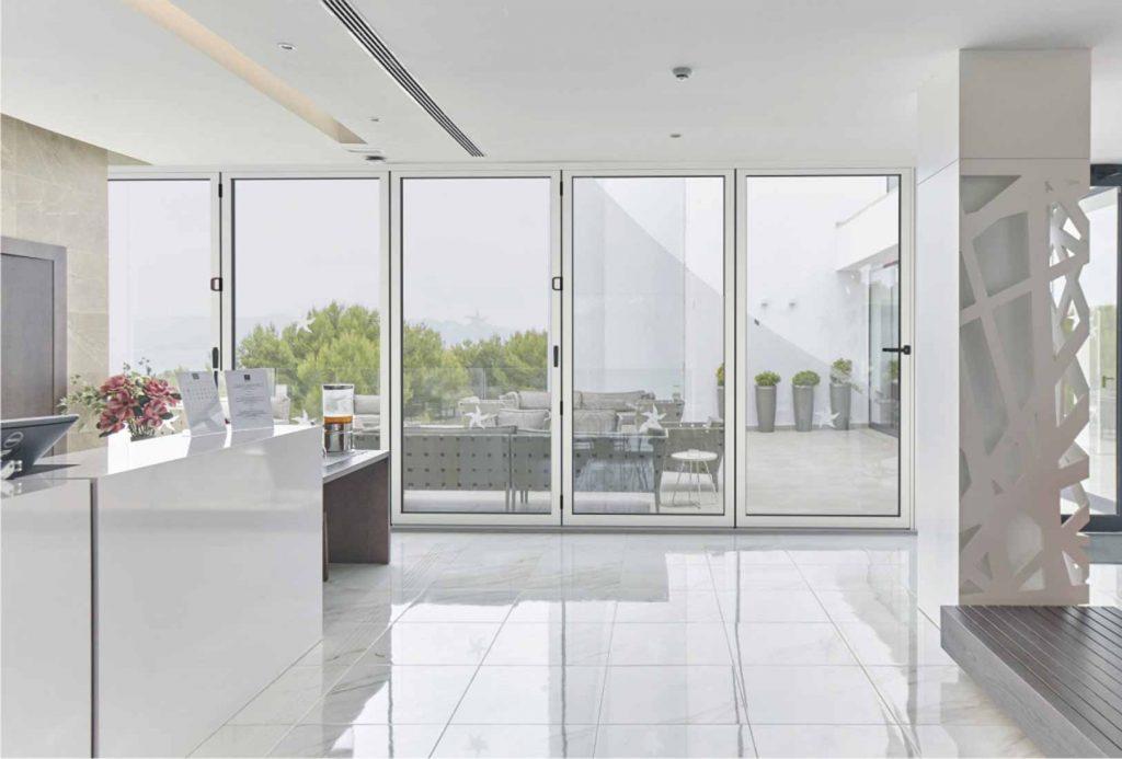 Cortizo Slim Bi-folding doors