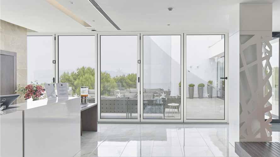 cortizo bifolding doors