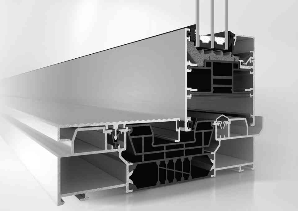 SCHÜCO ASE 80.HI SLIDING AND LIFT-AND-SLIDE SYSTEM