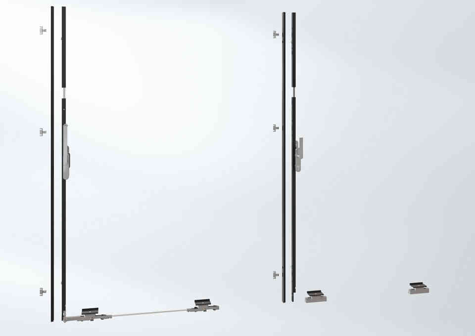 Schüco ASE 60/80 sliding systems-locking mechanism