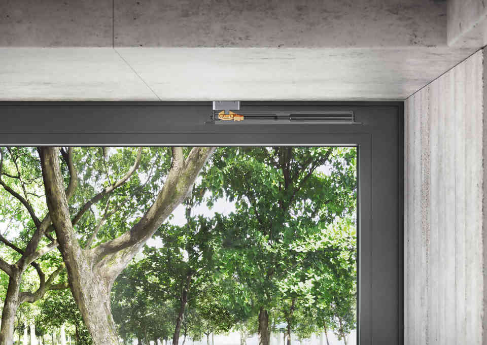Schuco sliding door system ASE60-80: detail