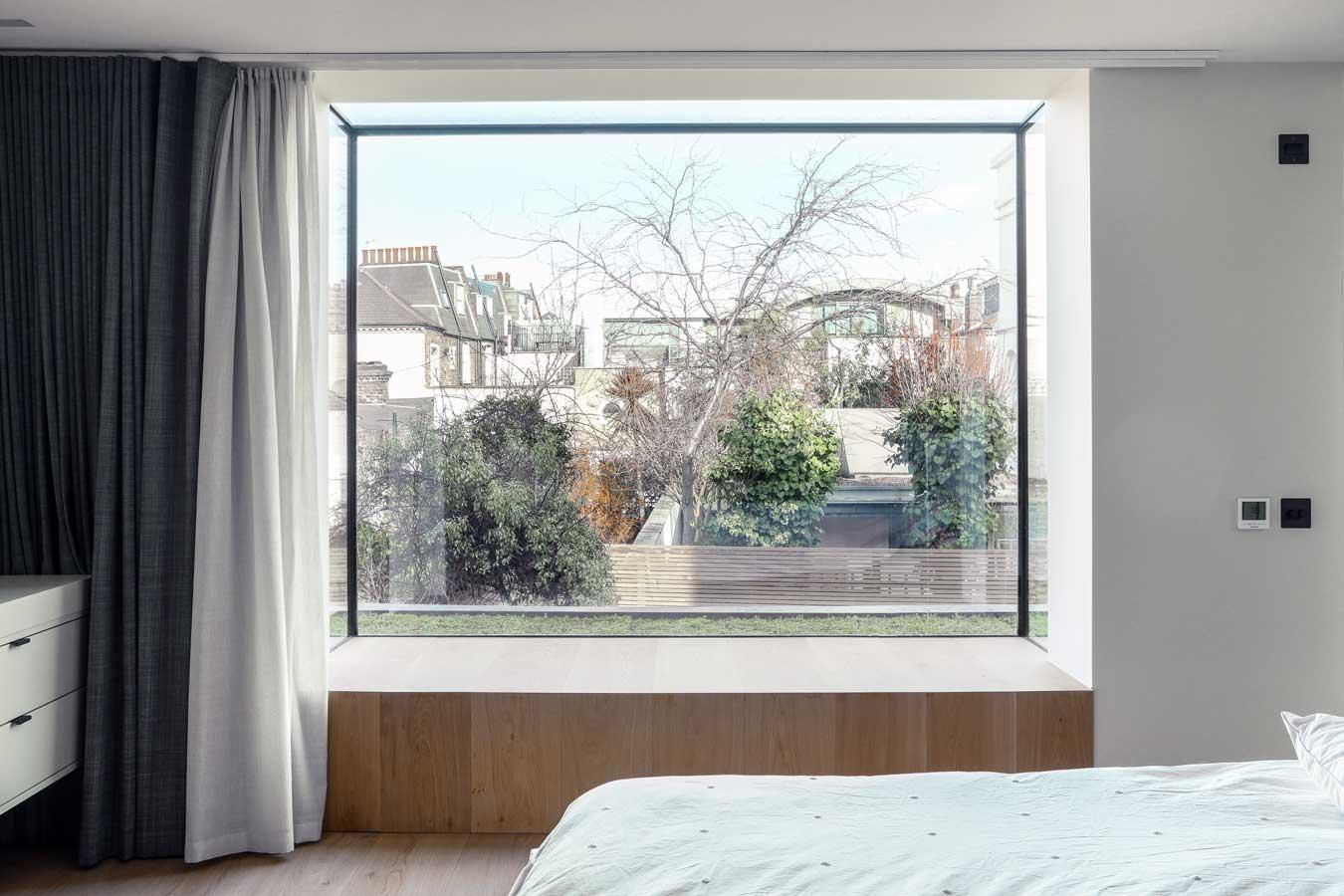 Oriel window, Wandsworth project